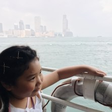 We love taking the Star Ferry