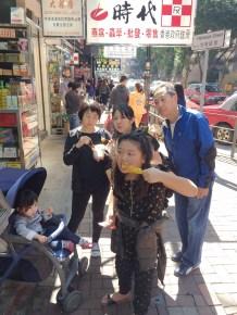 Eating our way through Hong Kong
