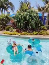 Chillin' in the lazy river at Legoland