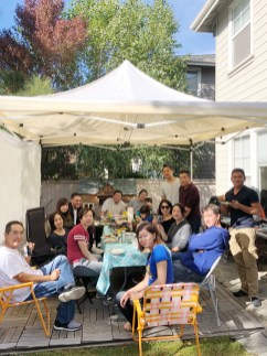 Memorial Day Weekend BBQ with my cuzzies