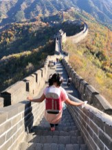 Perfect time of the year to walk the Great Wall!