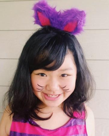 The mischievous Cheshire Cat from Alice in Wonderland