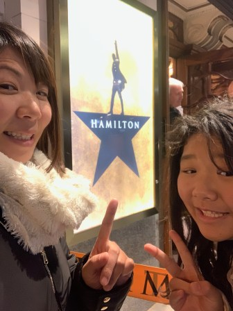 So excited for Hamilton!