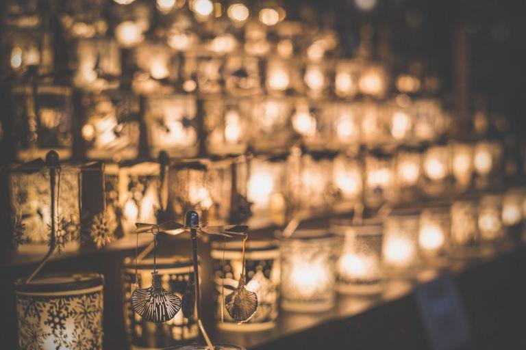 art blur candlelight candles