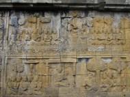 Detail at Borobudur, Java, Indonesia