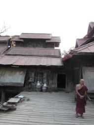 Old Monastery in Mandalay, Burma
