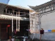 Drying Cheese, Xizhou, China