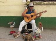 Street Performer in Havana