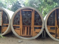 Hobbit Hole or Converted Pipe? Tulum Mexico