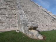 Detail at Chichen Itza, Mexico