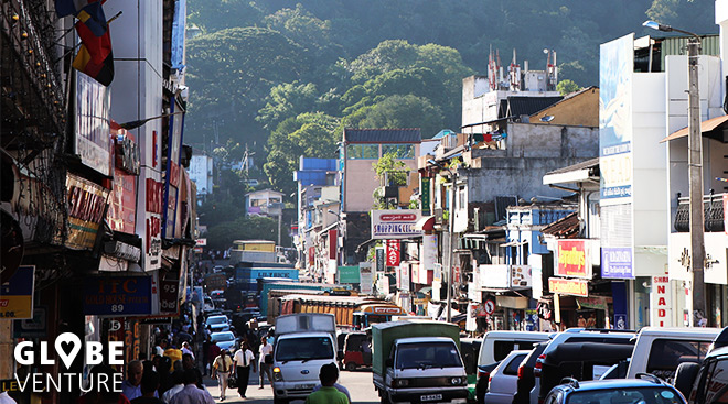Tumult und Verkehrschaos in Kandy