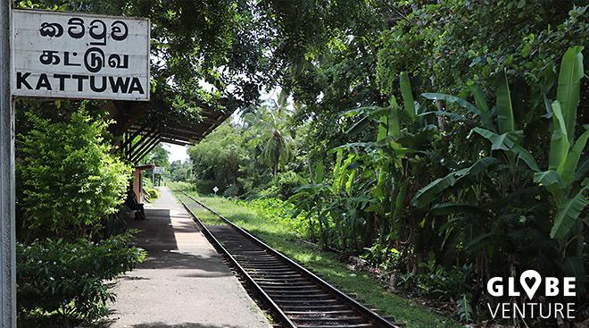 Der Bahnhof in Negombo