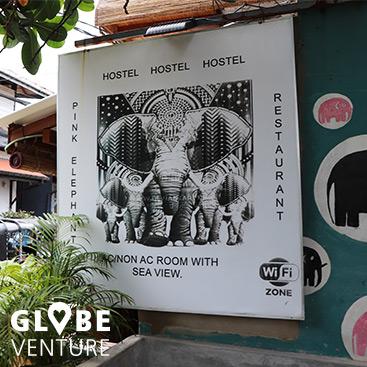 Pink Elephant Hostel in Unawatuna