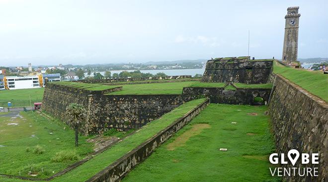 Die Festungsanlage von Galle Fort