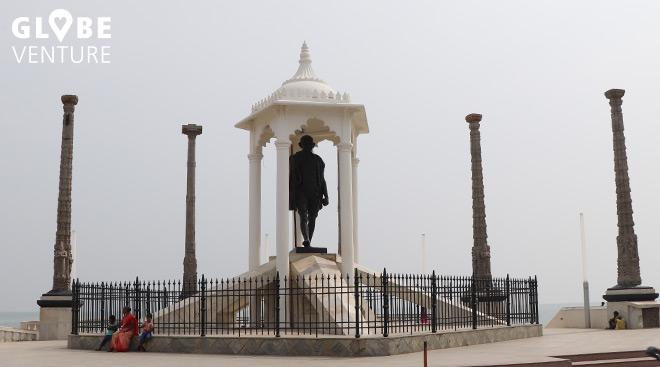 Die obligatorische Ghandi Statue