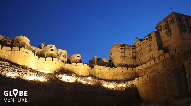 Das Fort in Jaisalmer