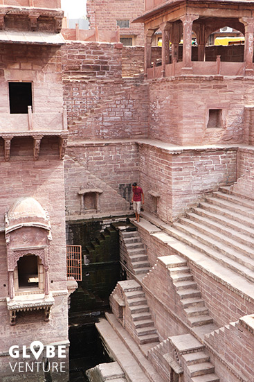 Magischer Stufenbrunnen - Steppwell Jodhpur