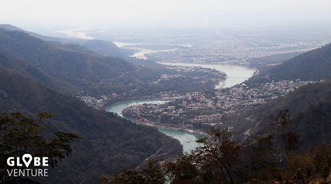 Berge Ganges Rishikesh