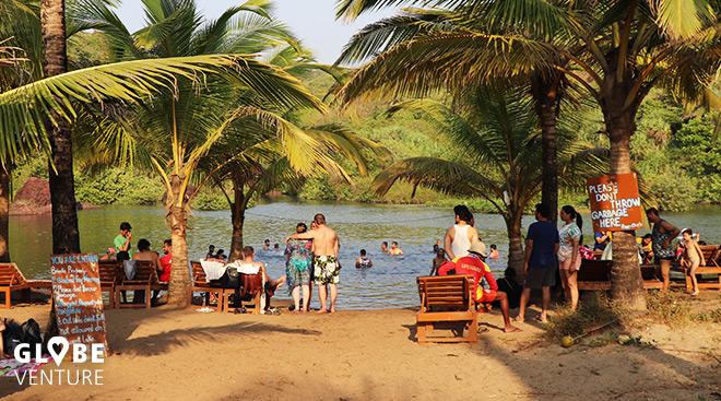 Sweet Lake in Arambol