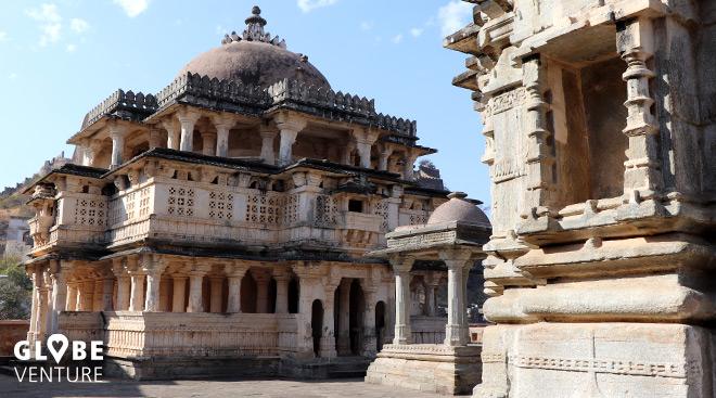 360 Tempel gibt es innerhalb der Mauern von Kumbhalgarh