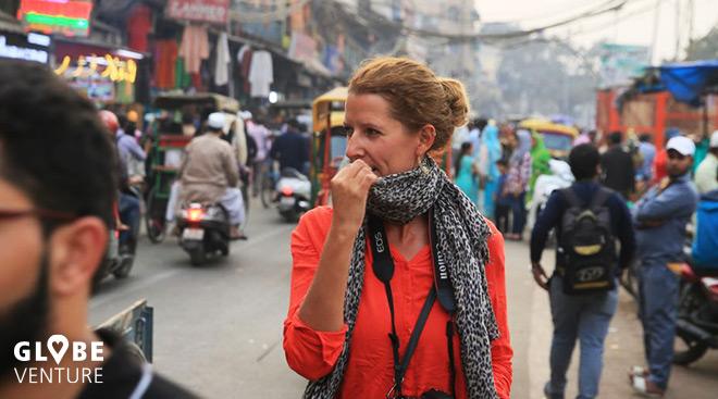 Dehli Indien Sarah Burghardt