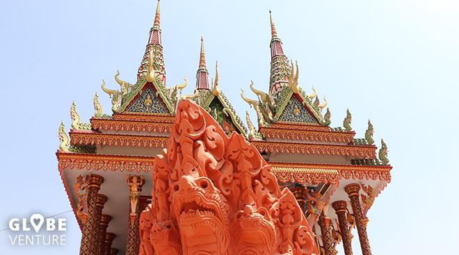 Lumbini Friedenspark Stupa Pagoda Tempel