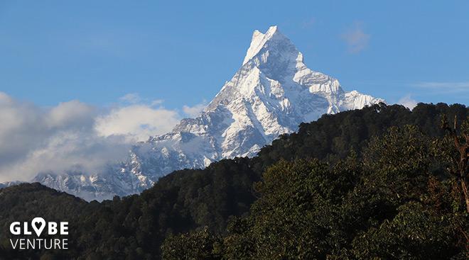 Nepal, Mardi Himal Trek, Fishtail, Machapuchare