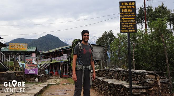 Nepal, Mardi Himal Trek, Pokhara, Pothana