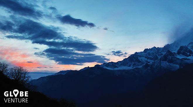 Nepal, Mardi Himal Trek, High Camp, Annapurna South