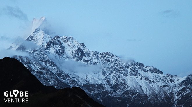 Nepal, Mardi Himal Trek, Machapuchare