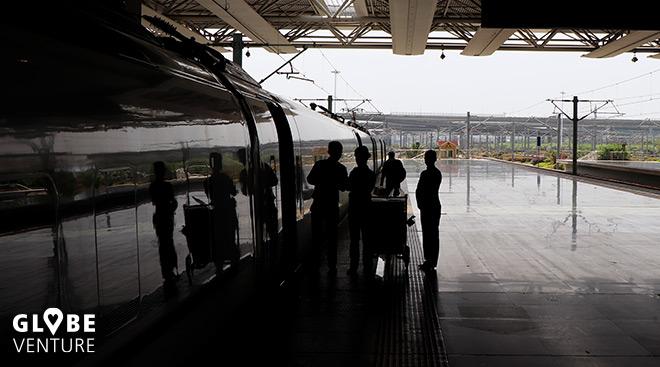 China Bahnhof