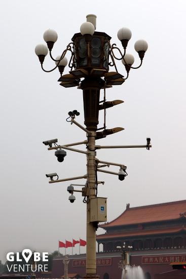 Videoüberwachung Tian'anmen-Platz