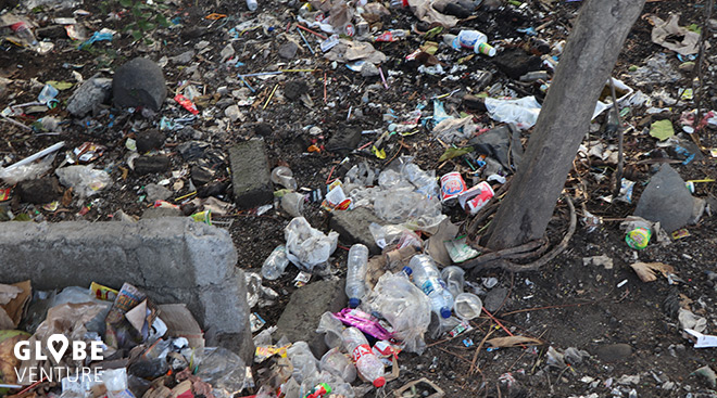 Bali Canggu Müll