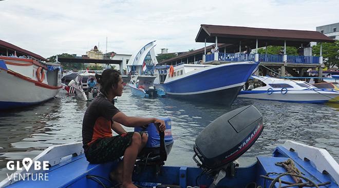 Hafen in Manao