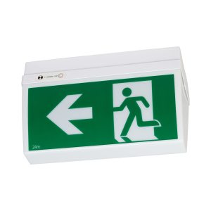 wide body celing exit light