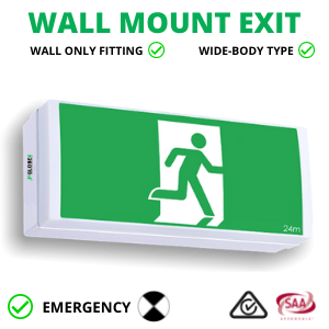 WALL MOUNT EXIT