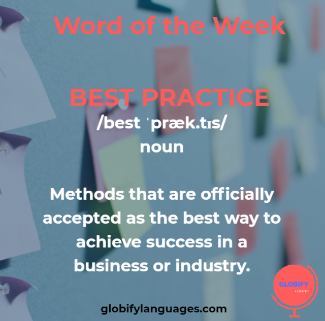 best practice meaning
