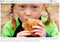 British kid..Study says eating with hands helps in digestion process,as it prepares body for type & texture of incomming food