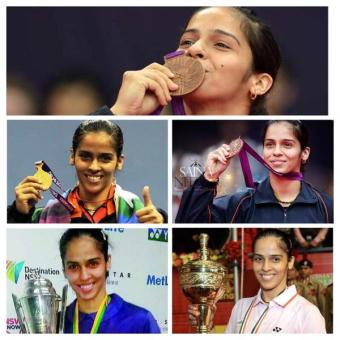 Proud moments for India and Saina...