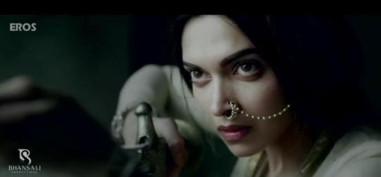 Stunning Deepika Padukon as Mastani