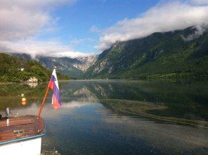 Bohinjsko jezero - Poletno jutro