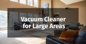 Vacuum Cleaner for Large Areas