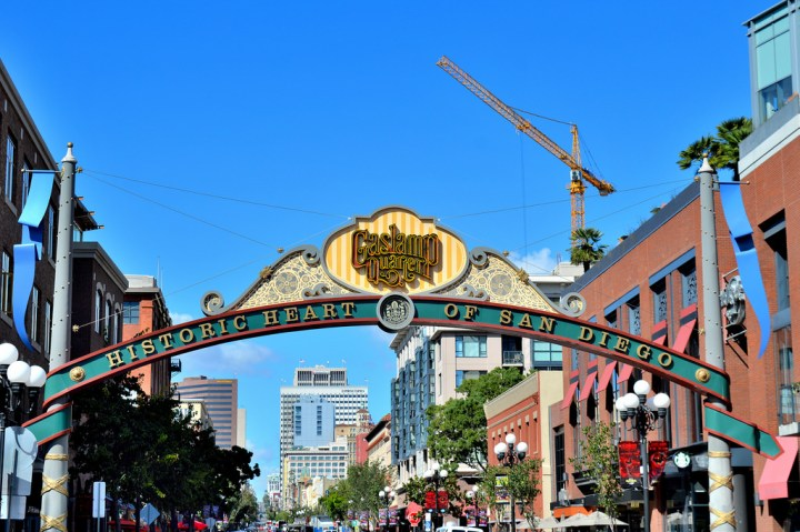 Gaslamp Quarter, San Diego (California).