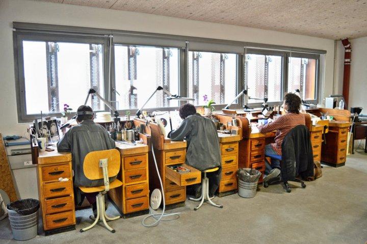 Engravers at Monnaie de Paris