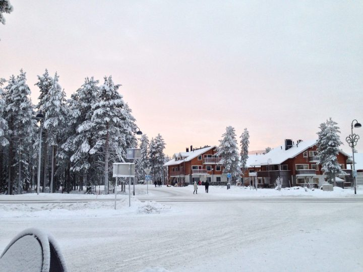 White Christmas in Magical Lapland