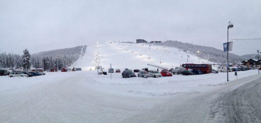 Snow in Lapland