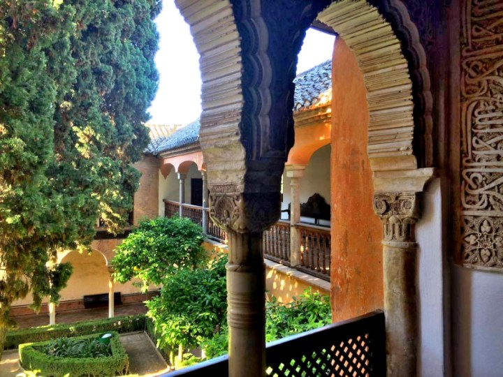 The Alhambra from the inside.