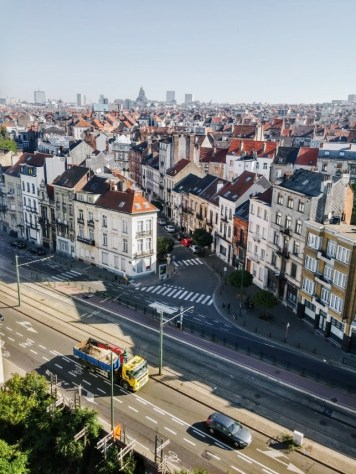 Brussels on a summer day