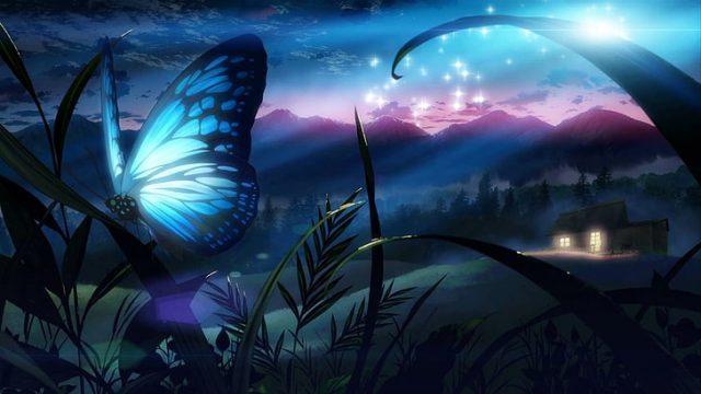 O que significa quando uma borboleta pousa em você?
