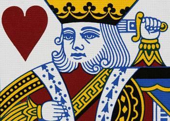 Carta De Tarô Rei De Copas